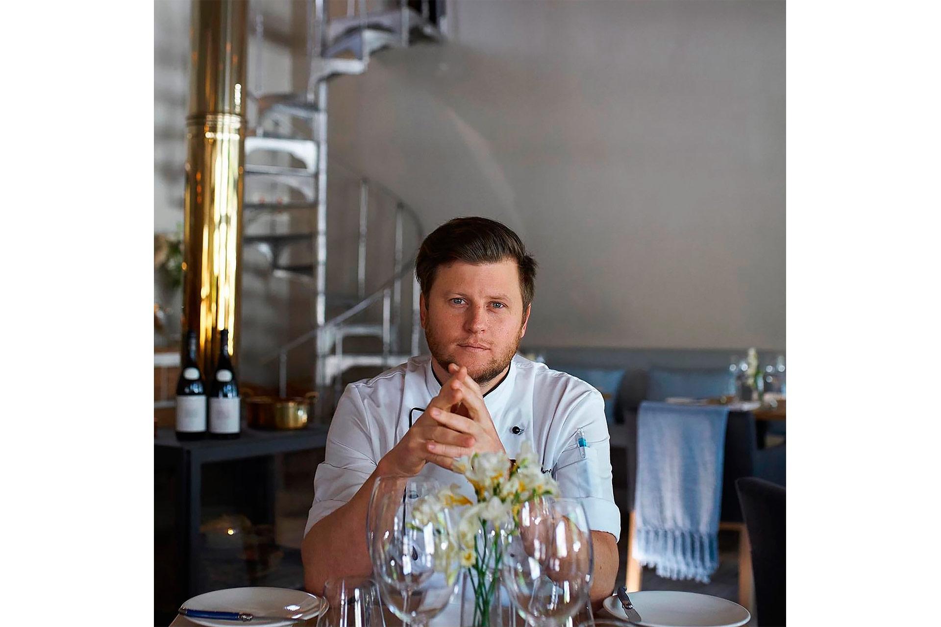 Chef Darren Badenhorst