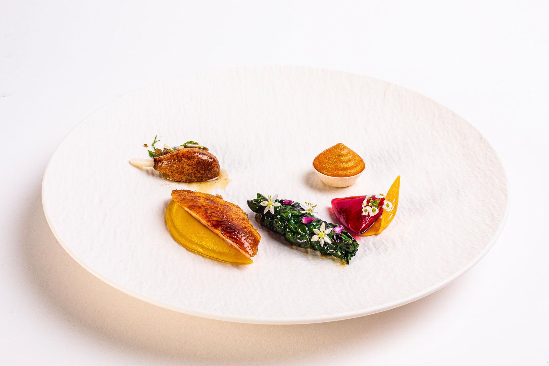 Winning dish Bocuse d'Or 2020 - Norway
