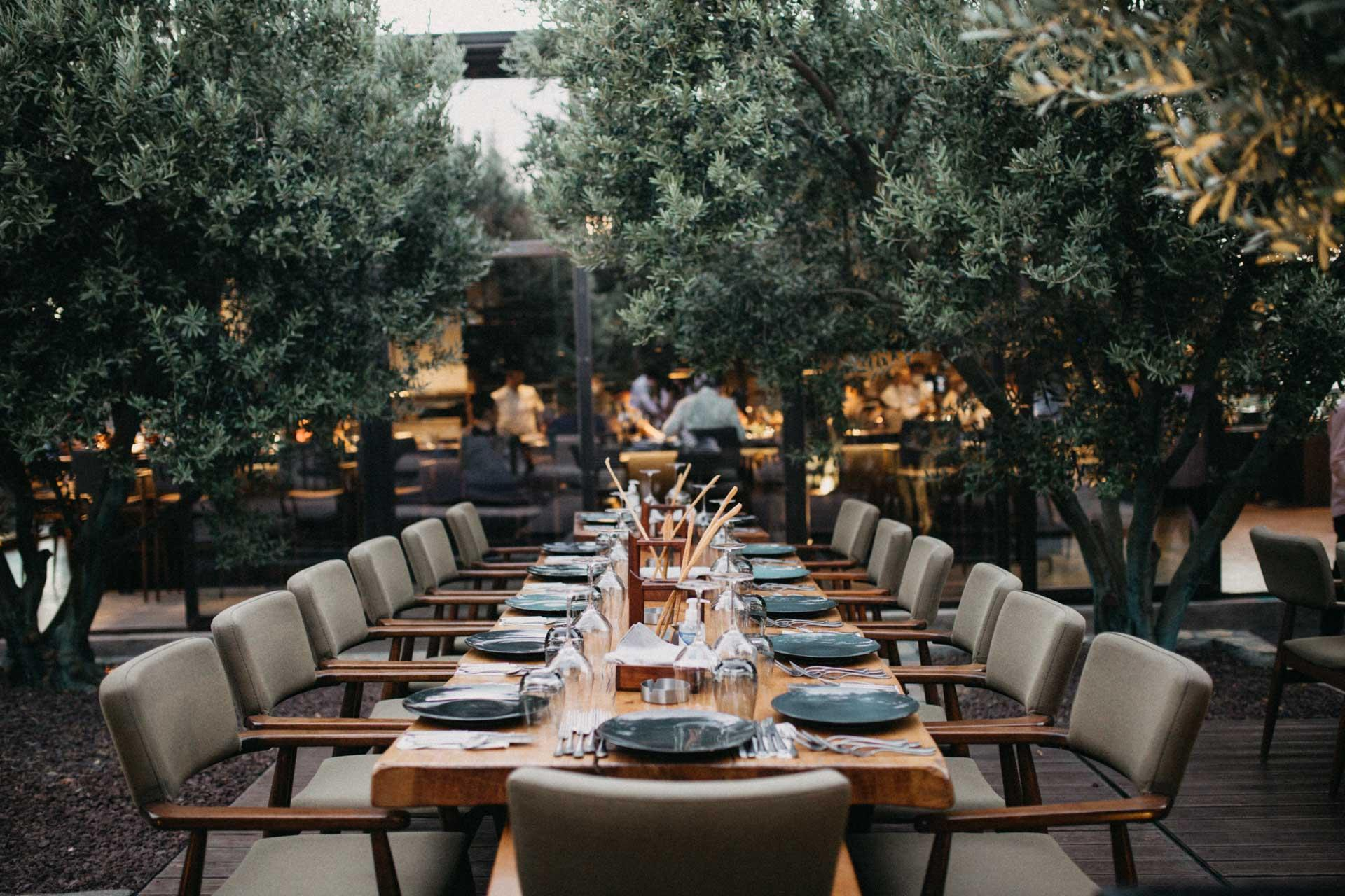 OD Urla - view of the restaurant