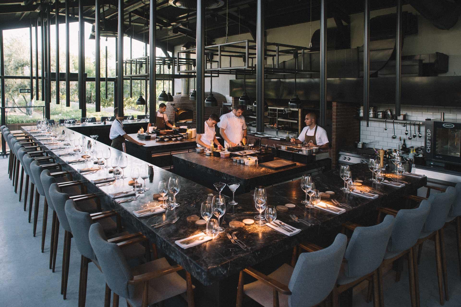 OD Urla - view of the restaurant indoor