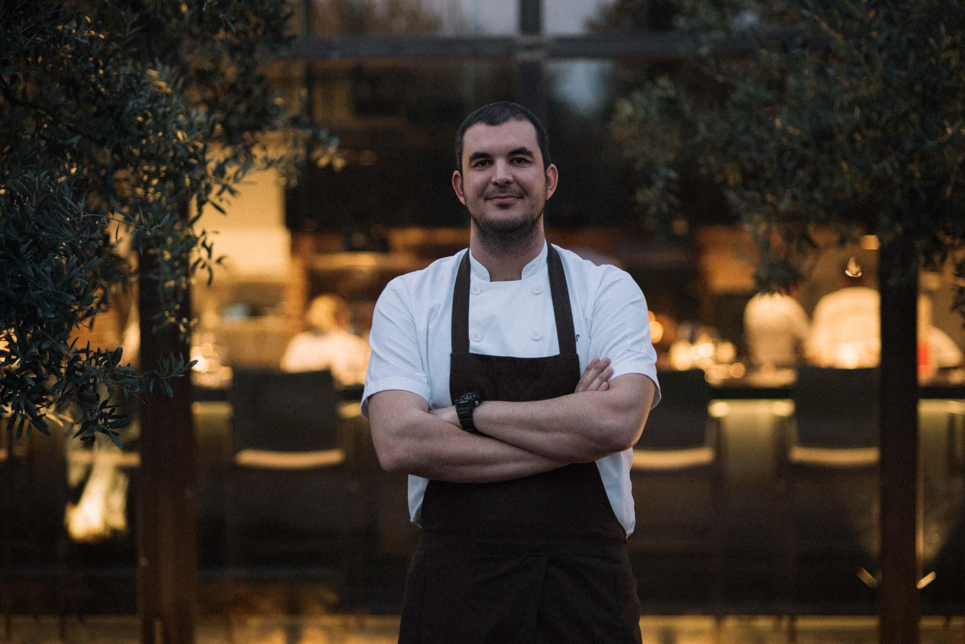 OD Urla - portrait of the OD Urla's chef