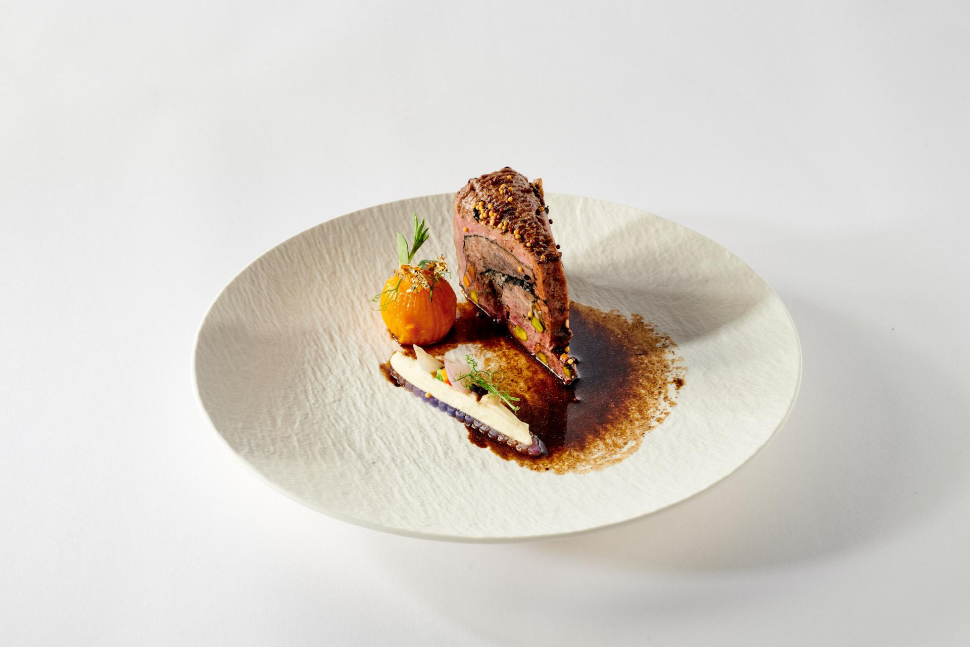 Bocuse d'Or 2021 Plate Indonesia