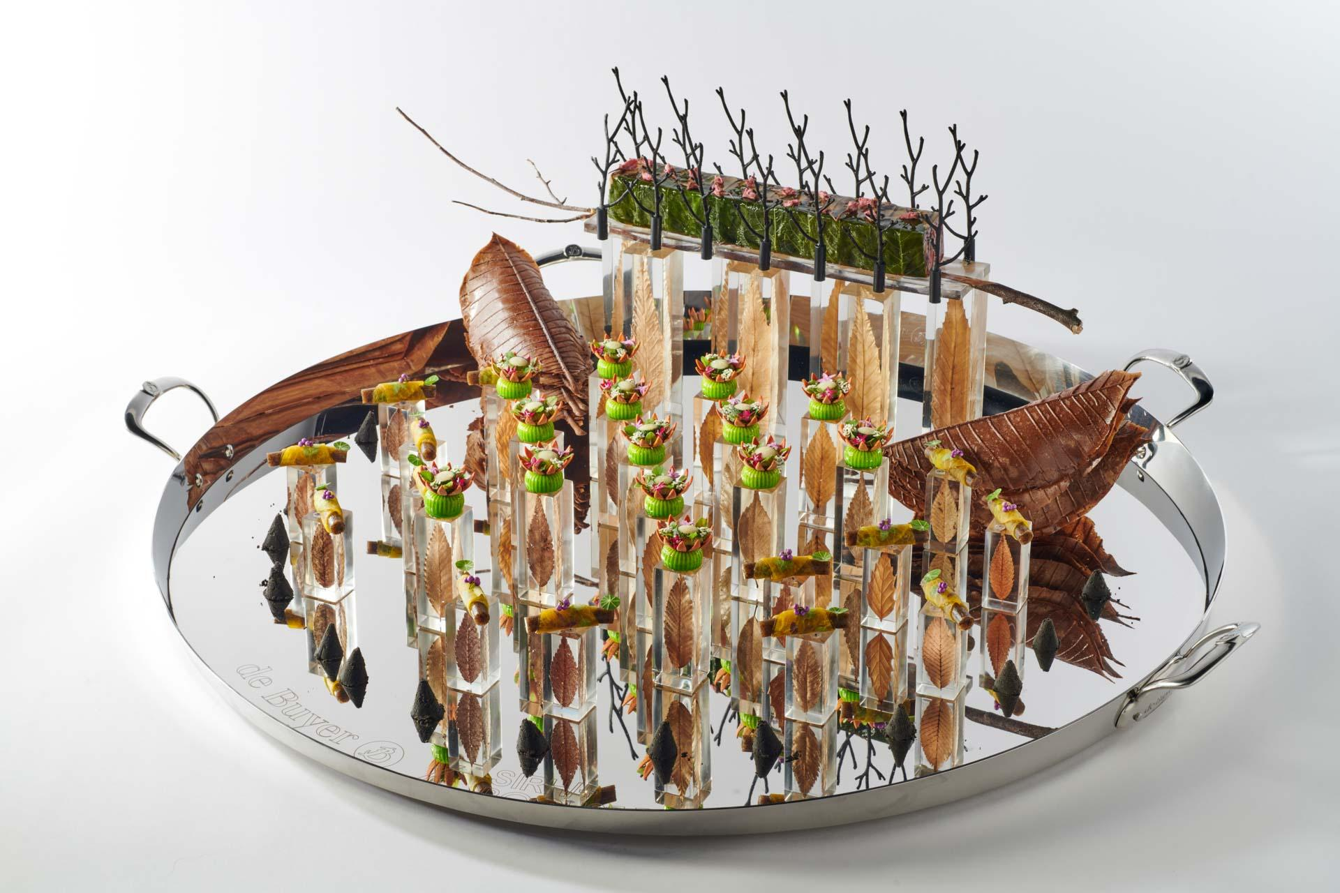 Bocuse d'Or 2021 Platter Japan