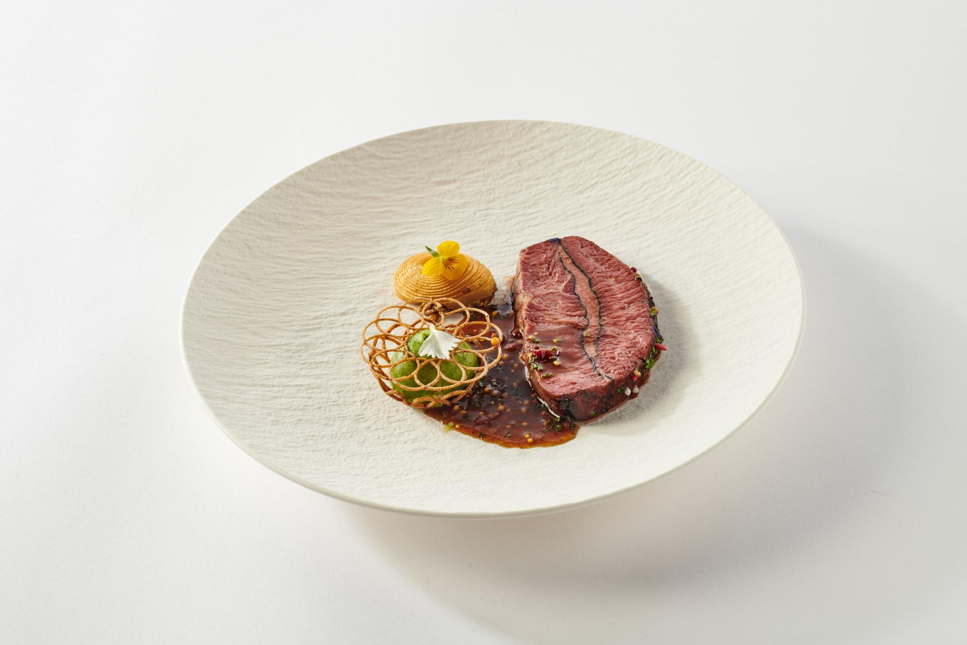 Bocuse d'Or 2021 Plate Russia