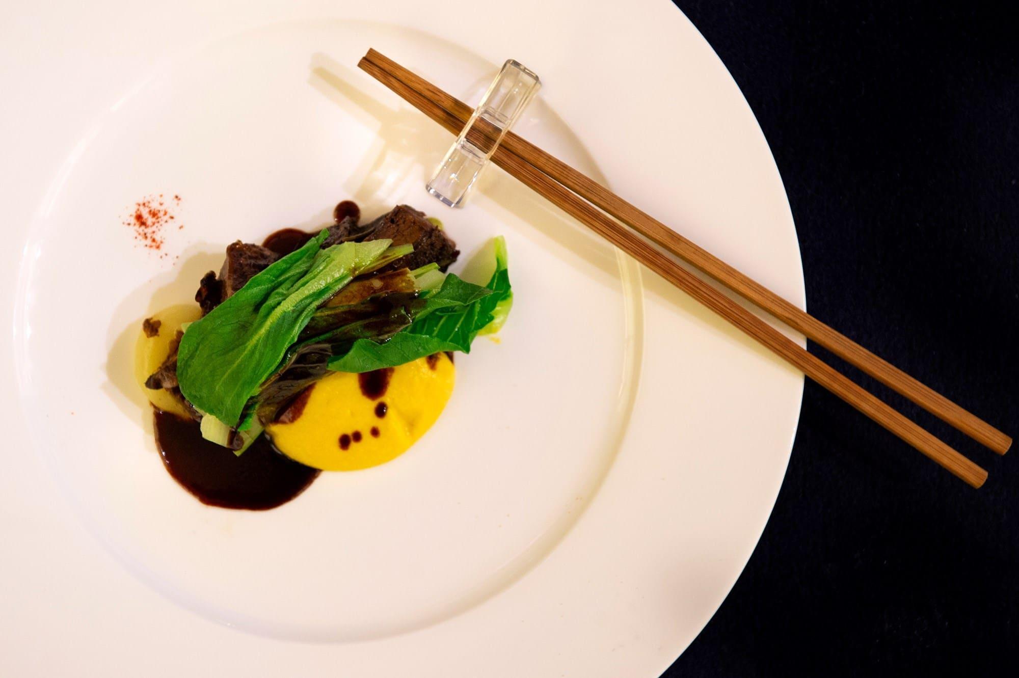 S.Pellegrino 120 Years Anniversary Dinner | Yasuhiro Fujio's Dish