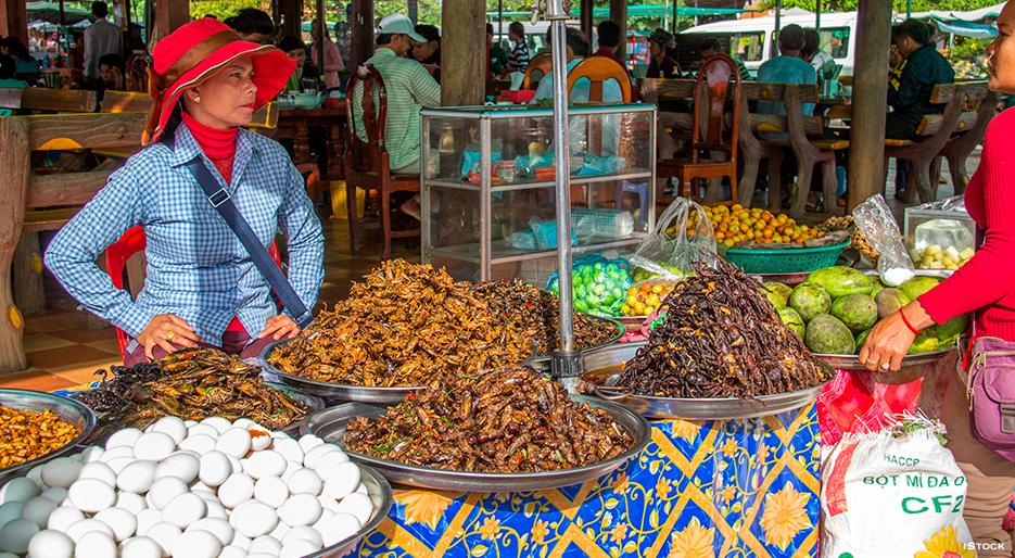 Image result for cambodia food market
