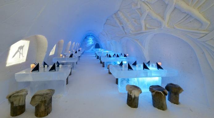 Finland's Snow Castle ...