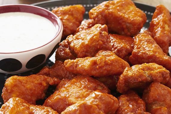 Fried Buffalo Wings