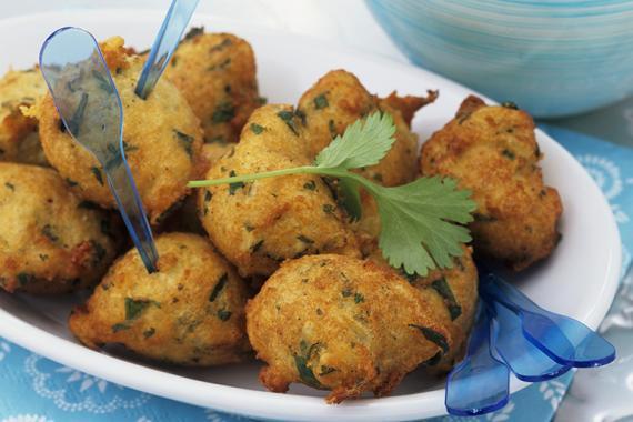 Gluten Free Indian Lentil Croquettes