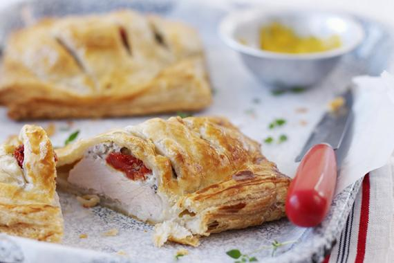 turkey breast in puff pastry