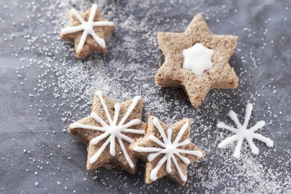 cinnamon star biscuits