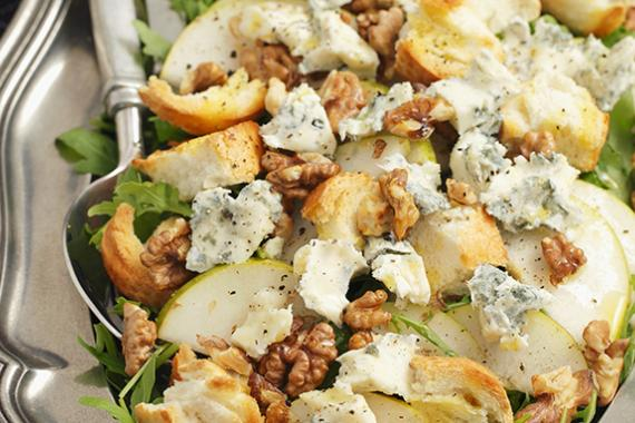 pear rocket salad