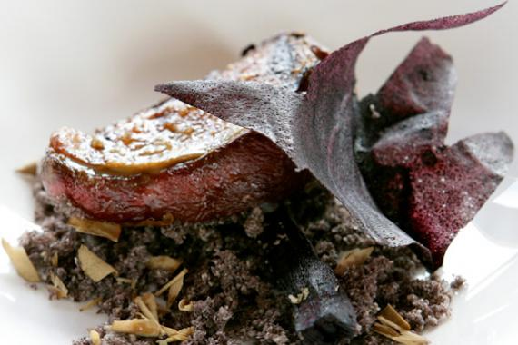Squab and chestnut recipe